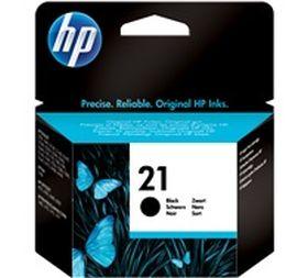HP ORIGINAL - HP 21 / C9351AE Noir (5 ml) Cartouche de marque