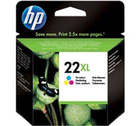HP ORIGINAL - HP 22XL / C9352CE Couleurs (11ml) Cartouche de marque