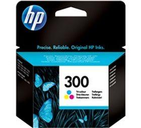 HP ORIGINAL - HP 300 / CC643EE Couleurs (4 ml) Cartouche de marque