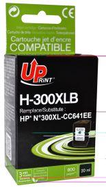 UPRINT - UPrint 300XL Noir (20 ml) Cartouche encre remanufacturée HP Qualité Premium