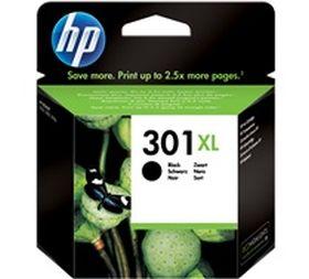 HP ORIGINAL - HP 301XL Noir (8 ml) Cartouche de marque