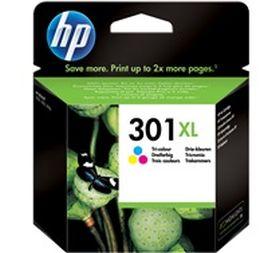 HP ORIGINAL - HP 301XL Couleurs (6 ml) Cartouche de marque