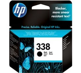 HP ORIGINAL - HP 338 / C8765EE Noir (11 ml) Cartouche de marque
