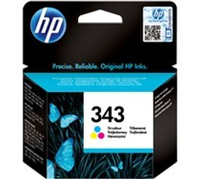 HP ORIGINAL - HP 343 / C8766EE Couleurs (7 ml) Cartouche de marque