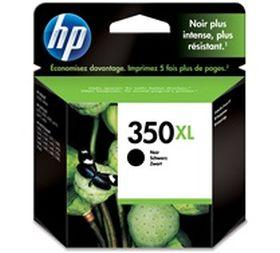 HP ORIGINAL - HP 350XL / CB336EE Noir (25 ml) Cartouche de marque