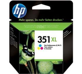 HP ORIGINAL - HP 351XL / CB338EE Couleurs (14 ml) Cartouche de marque
