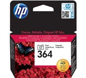 HP ORIGINAL - HP 364 / CB317EE Photo Noir (3 ml) Cartouche de marque