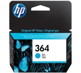 HP ORIGINAL - HP 364 / CB318EE Cyan (3 ml) Cartouche de marque