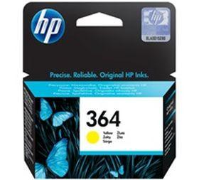 HP ORIGINAL - HP 364 / CB320EE  Jaune (3 ml) Cartouche de marque