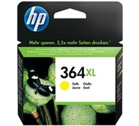 HP ORIGINAL - HP 364XL Jaune (6 ml) Cartouche de marque