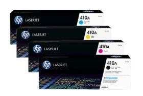 HP ORIGINAL - HP 410A Pack de 4 Toners (Noir, Cyan, Magenta, Jaune)