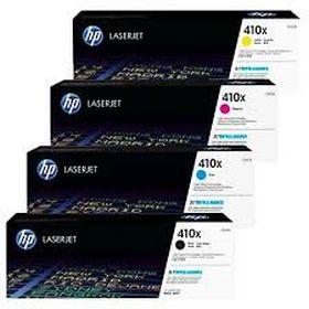 HP ORIGINAL - HP 410X Pack de 4 Toners (Noir, Cyan, Magenta, Jaune)