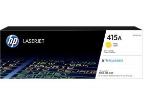 HP ORIGINAL - HP 415A jaune Toner LaserJet authentique W2032A