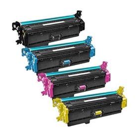 RECYCLE HP - 508X Pack de 4 Toners remanufacturés (Noir, Cyan, Magenta, Jaune)