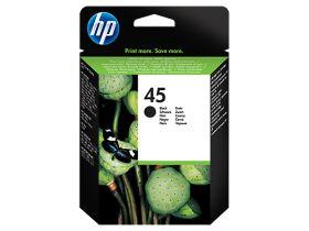 HP ORIGINAL - HP 45 Noir (42 ml) Cartouche de marque