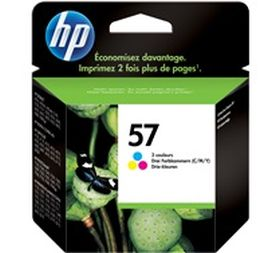 HP ORIGINAL - HP 57 / C6657AE Couleurs (17 ml) Cartouche de marque