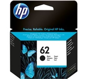 HP ORIGINAL - HP 62 / C2P04AE Noir (200 pages) Cartouche de marque