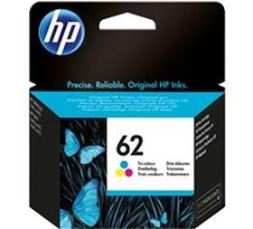 HP ORIGINAL - HP 62 / C2P06AE Couleur (165 pages) Cartouche de marque
