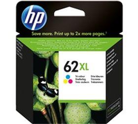 HP ORIGINAL - HP 62XL / C2P07AE Couleur (415 pages) Cartouche de marque