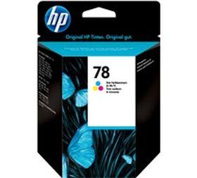 HP ORIGINAL - HP 78 / C6578D Couleurs (19 ml) Cartouche de marque