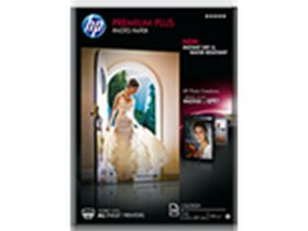 HP ORIGINAL - Papier photo à finition brillante HP Premium Plus A4 300g/m2 - Boite de 20 feuilles