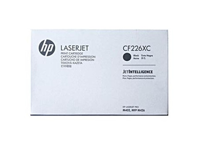 HP 26X / CF226X Noir (9000 pages) Toner de marque en promotion