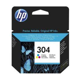HP ORIGINAL - HP 304 / N9K05AE Couleur (100 pages) Cartouche de marque
