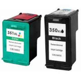 350XL (Noir) + 351XL (Couleurs) Pack x2 cartouches remanufacturées