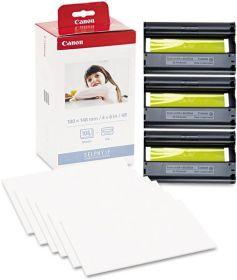 CANON ORIGINAL - Kit papier + encre 108 feuilles format carte postale pour série CP - KP108IN
