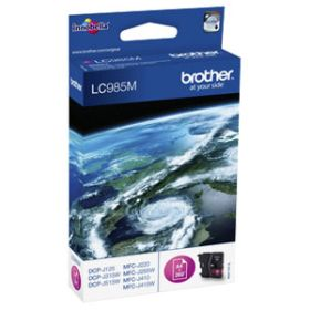 BROTHER ORIGINAL - Brother LC-985 Magenta (260 pages) Cartouche de marque