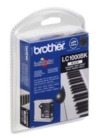 BROTHER ORIGINAL - Brother LC-1000 Noire (18,6ml) Cartouche de marque