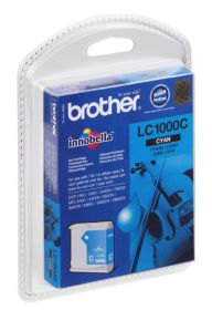 BROTHER ORIGINAL - Brother LC-1000 Cyan (6,5ml) Cartouche de marque