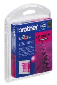 BROTHER ORIGINAL - Brother LC-1000 Magenta (6,5ml) Cartouche de marque