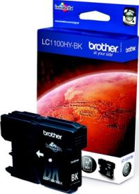 BROTHER ORIGINAL - Brother LC-1100HY Noire (900 pages) Cartouche de marque