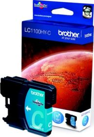BROTHER ORIGINAL - Brother LC-1100HY Cyan (750 pages) Cartouche de marque