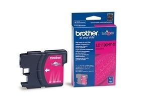 BROTHER ORIGINAL - Brother LC-1100HY Magenta (750 pages) Cartouche de marque