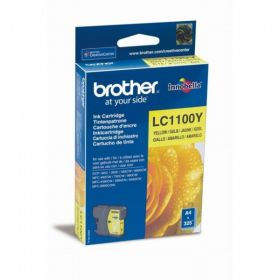 BROTHER ORIGINAL - Brother LC-1100 Jaune (5,5ml) Cartouche de marque