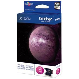BROTHER ORIGINAL - Brother LC-1220 Magenta (300 pages) Cartouche de marque