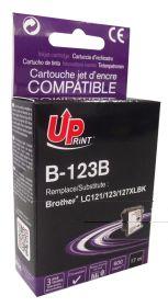 UPRINT - UPrint LC-123 Noir  Cartouche compatible Brother Qualité Premium