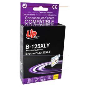 UPRINT - UPrint LC125 jaune Cartouche compatible Brother Qualité Premium