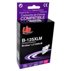 UPRINT/ QUALITE PREMIUM - UPrint LC125 magenta Cartouche compatible Brother Qualité Premium