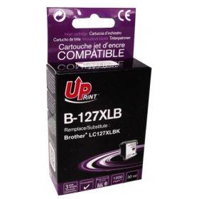 UPRINT - UPrint LC127 noir Cartouche compatible Brother Qualité Premium
