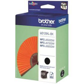 BROTHER ORIGINAL - Brother LC-129XL Noire (2400 pages) Cartouche de marque