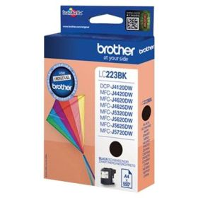 BROTHER ORIGINAL - Brother LC-223 Noire (550 pages) Cartouche de marque