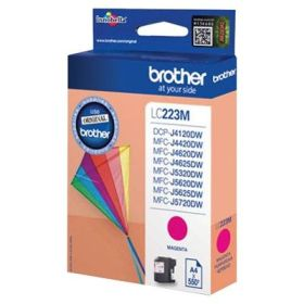 BROTHER ORIGINAL - Brother LC-223 Magenta (550 pages) Cartouche de marque