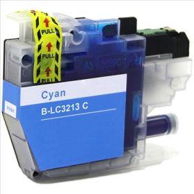 COMPATIBLE BROTHER - LC-3213/ LC-3211 Cyan Cartouche générique