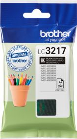 BROTHER ORIGINAL - Brother LC-3217 Noire (550 pages) Cartouche de marque