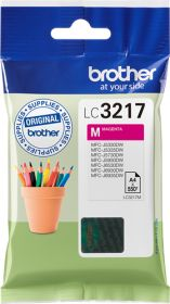 BROTHER ORIGINAL - Brother LC-3217 Magenta (550 pages) Cartouche de marque
