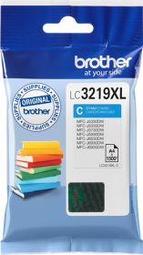 BROTHER ORIGINAL - Brother LC-3219 XL Cyan (1500 pages) Cartouche de marque