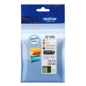 BROTHER ORIGINAL - Brother LC-3219XL Value Pack de 4 cartouches de marque (Noir, Cyan, Magenta, Jaune)